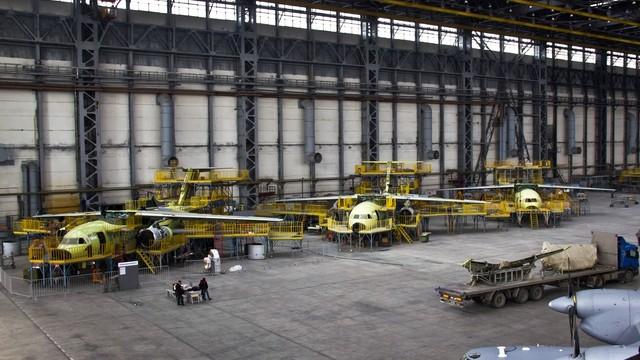 «Антонов» подписал контракты напроизводство 60 самолетов