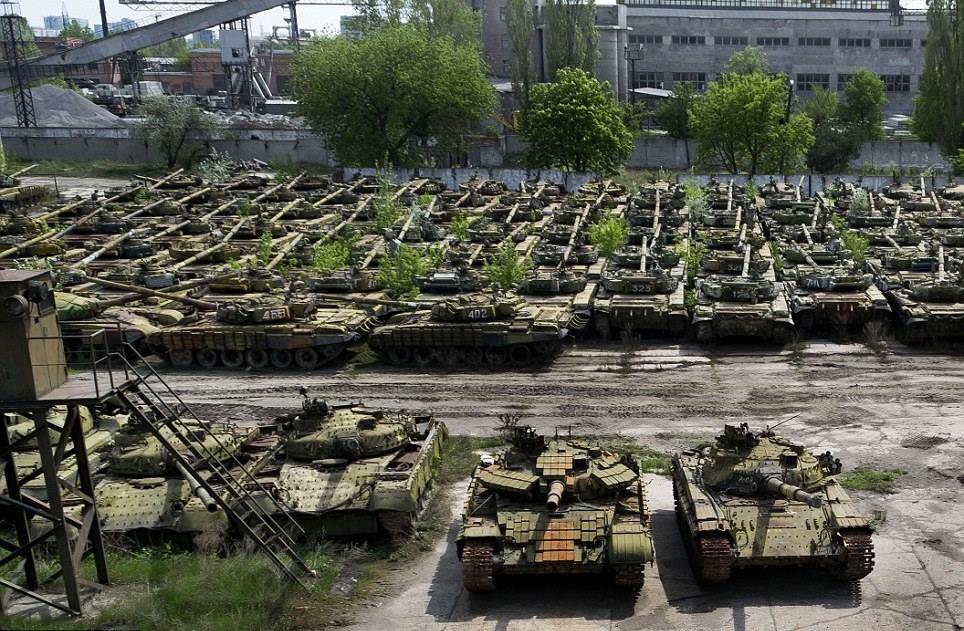 фото военной техники украины