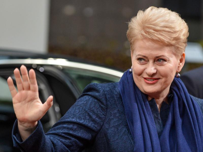 Лидер Литвы растрогала сети видеопоздравлением сДнем независимости Украины