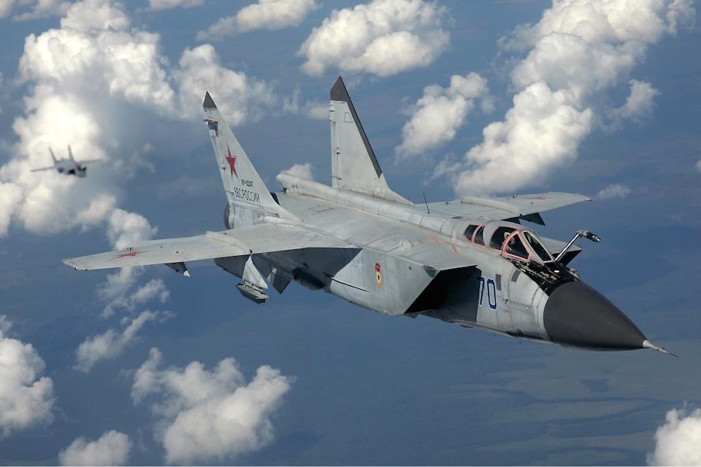 В России разбился МиГ-31