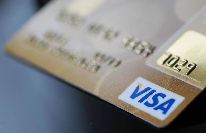 карточка виза
