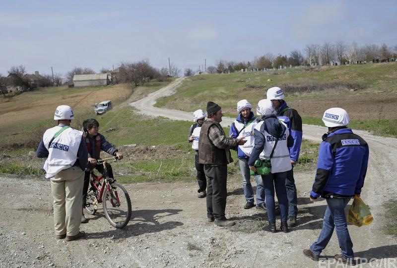 Колонна русских военных пересекла границу с Украинским государством — ОБСЕ