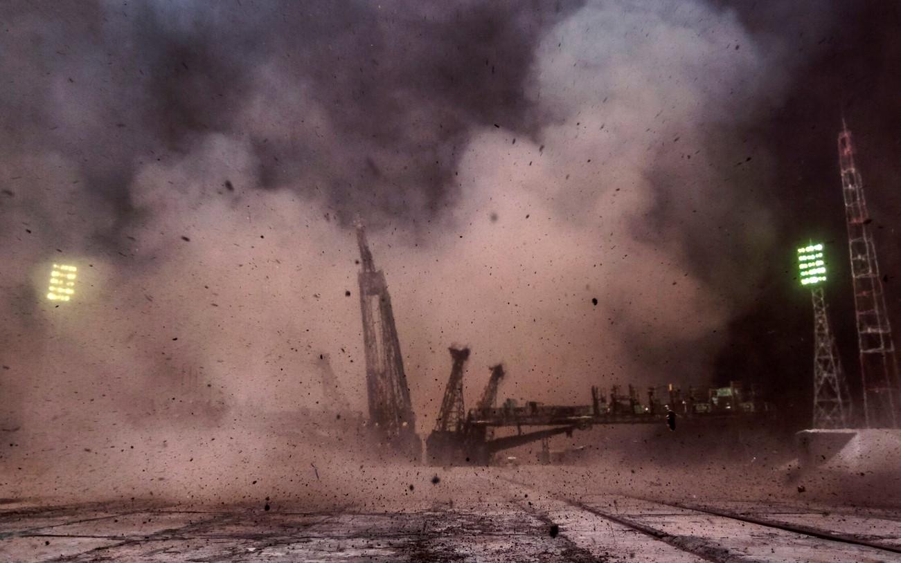 """Ракета-носитель """"Вега"""" с украинским двигателем успешно стартовала с космодрома во Французской Гвиане - Цензор.НЕТ 3638"""