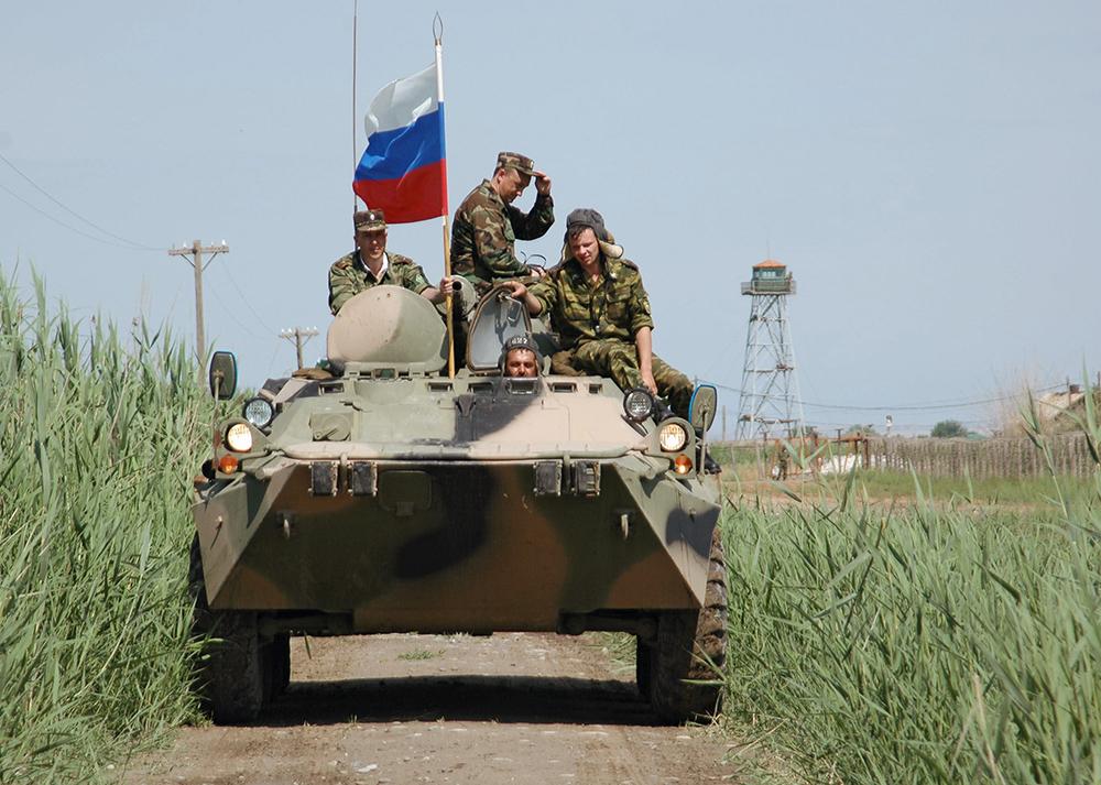 20:03 В Сирии погиб российский морпех