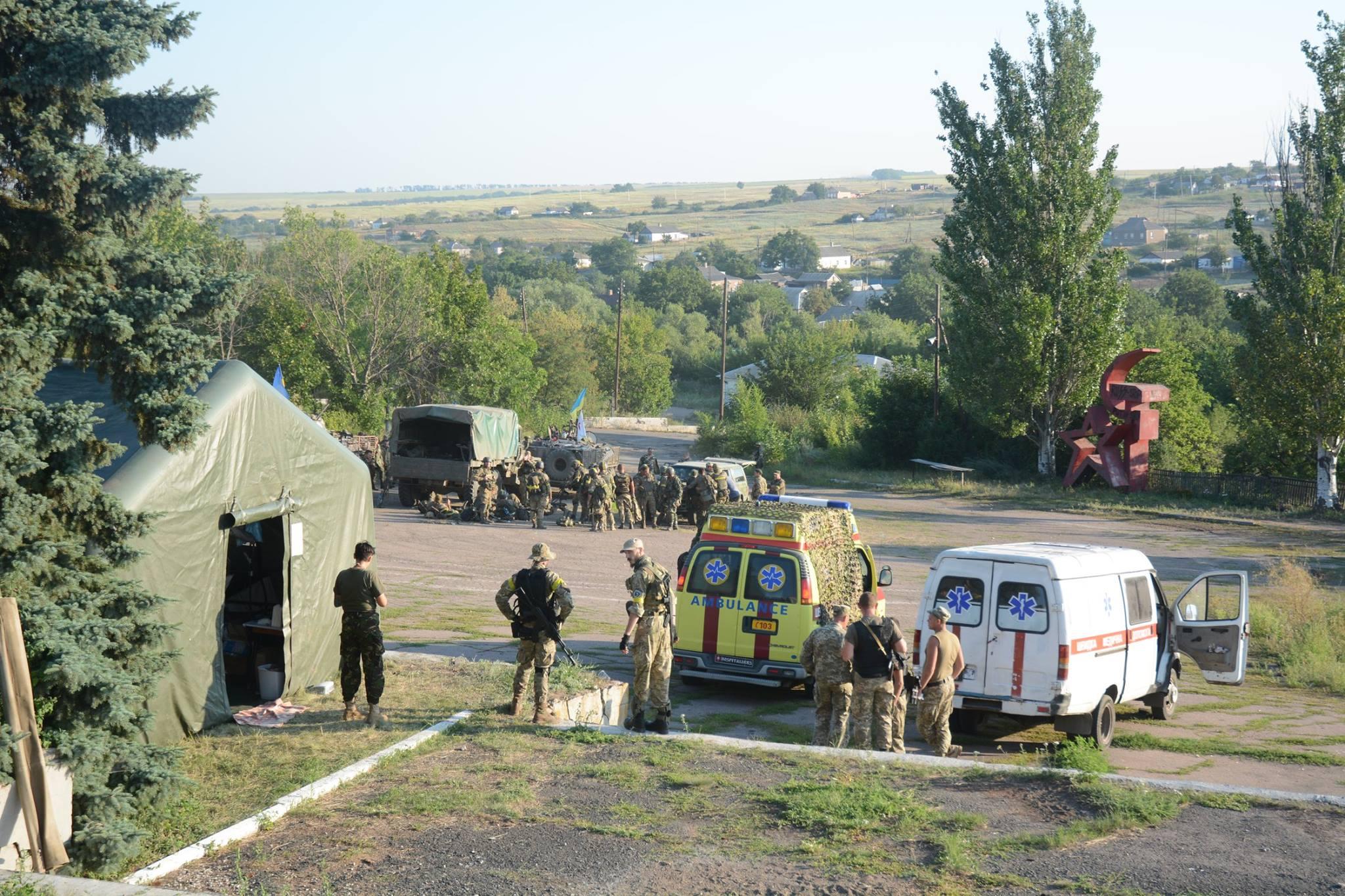 За прошедшие сутки 3 украинских военнослужащих погибли, еще 4 были ранены,— Лысенко