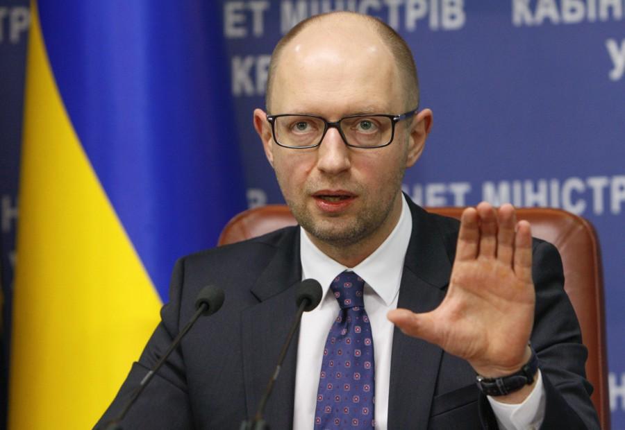Яценюк рассказал, куда отвез свой миллиард