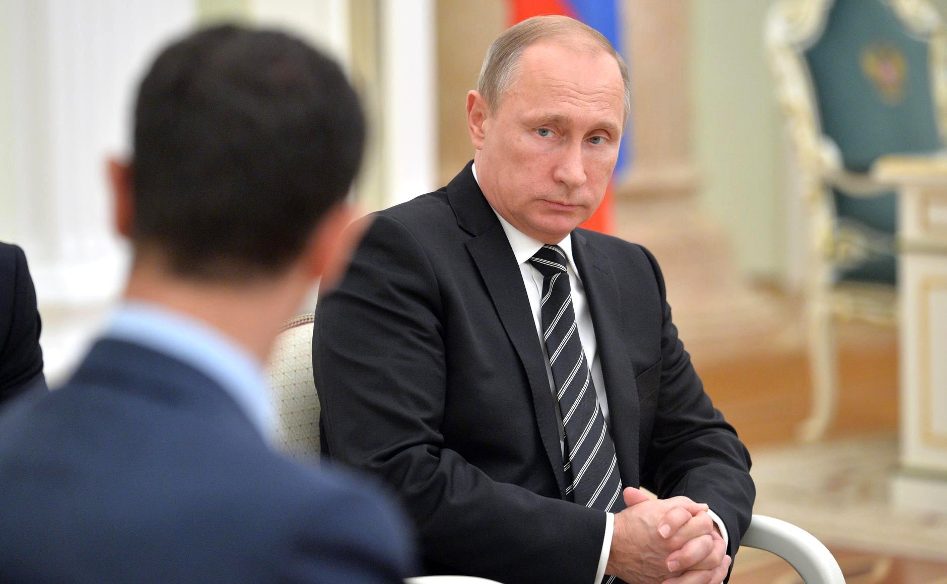 В Кремле пояснили нежелание Путина говорить с