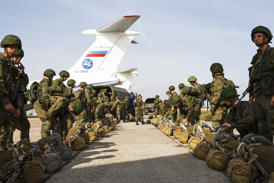 российские десантники войска рф