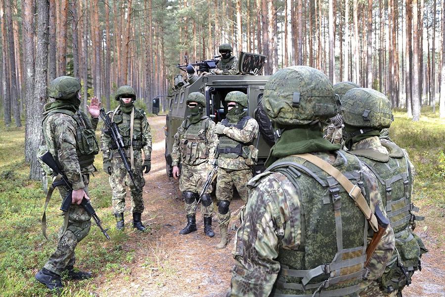 troupes de la Fédération de Russie