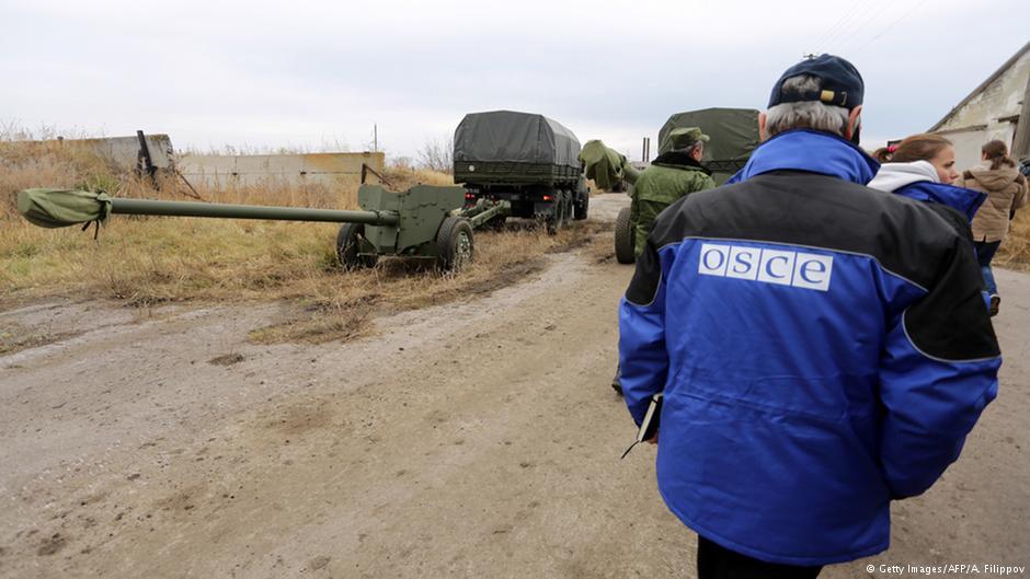 Вооруженные «ДНРовцы» всреду непускали СММ ОБСЕ вКоминтерново
