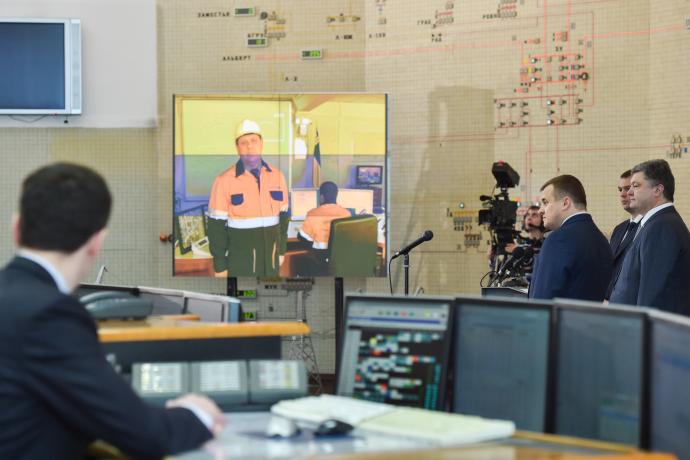"""ВУкраине введена вдействие новая линия электропередач «Ровенская АЭС— подстанция """"Киевская""""»"""