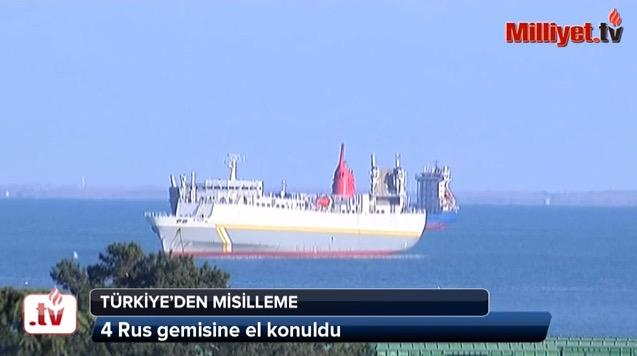 18:17 В турецком порту задержали 6 российских кораблей