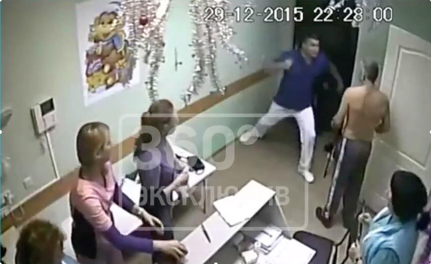 Вбелгородской больнице врач, защищая сестру, убил пациента