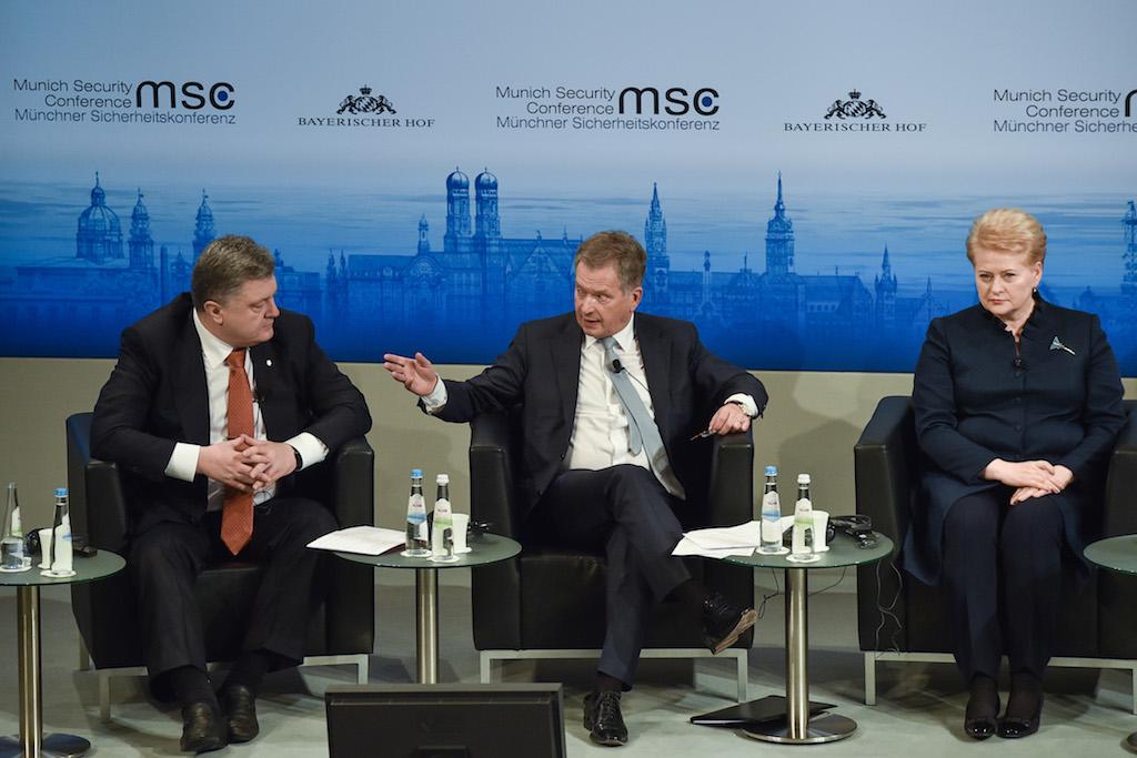 Заявления Порошенко о Путине вызвали фурор в Мюнхене