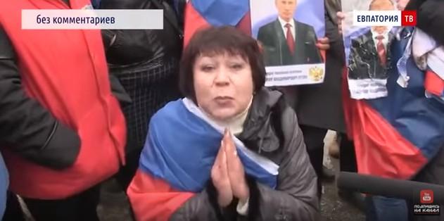 Новости Крымнаша. «Жалкие людишки гордятся своей опущенностью»