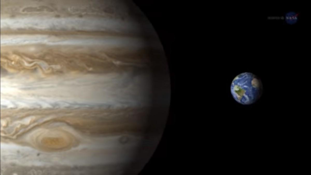 15:33 by Александр Иванов В ночь на 8 марта земляне смогут наблюдать Юпитер невооруженным глазом