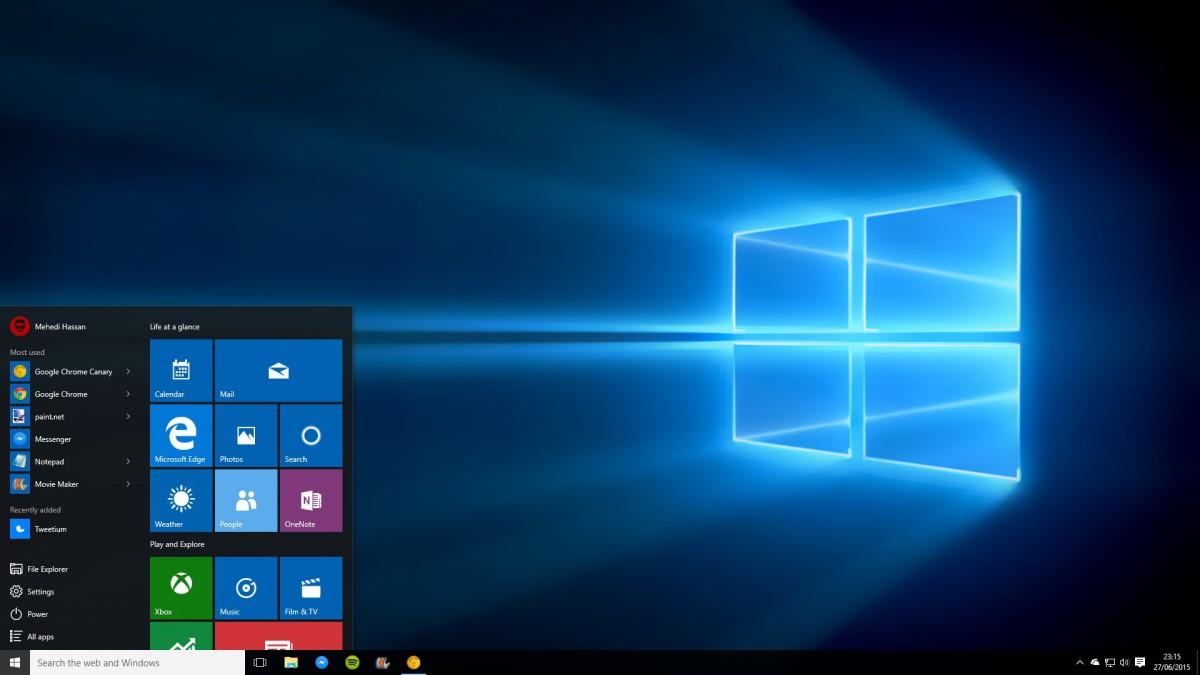 Microsoft назвала дату выхода юбилейного обновления для Windows 10