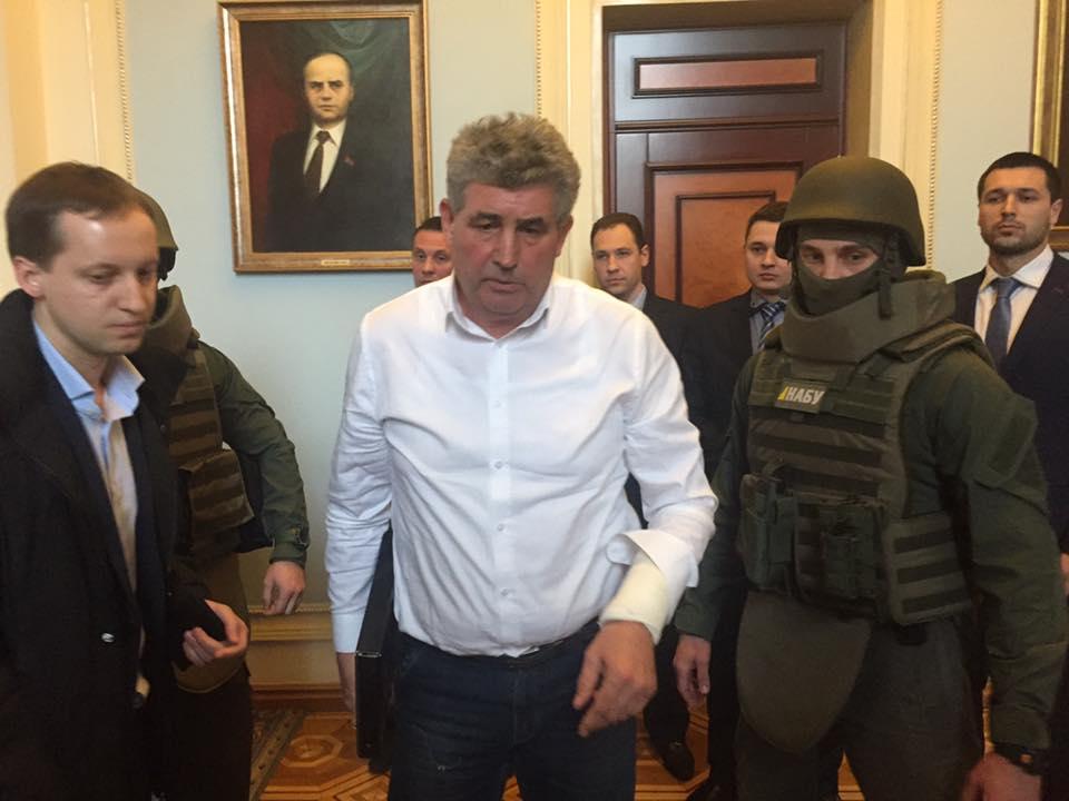 НАБУ: одесский судья-стрелок Буран присутствует вСИЗО