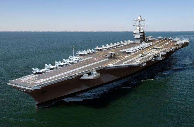 ВМС США пополнятся «суперавианосцем» нового класса, названным вчесть экс-президента Форда