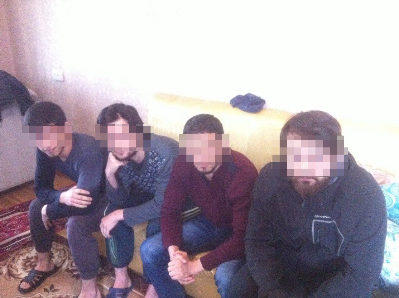 ВКиеве задержали пятерых потенциальных участников иделовые,— СБУ