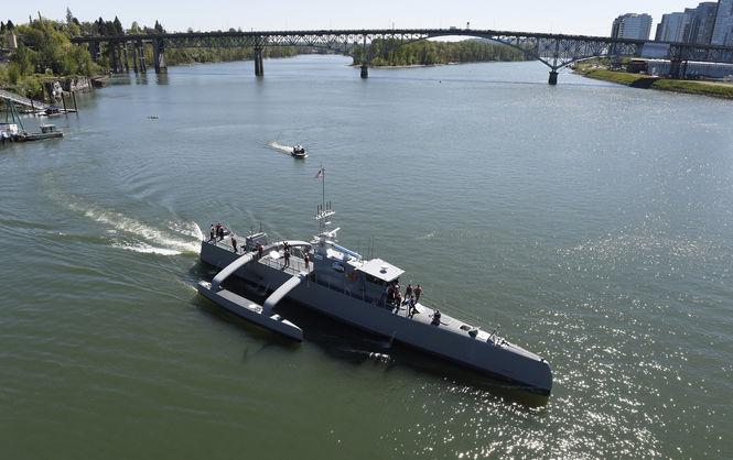 США представили противолодочный корабль-робот «Морской охотник»