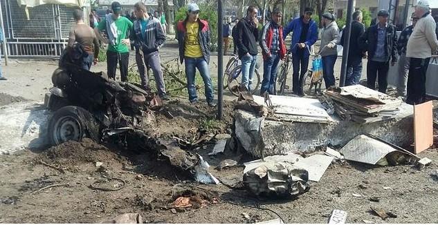 ВХерсонской области взорвался автомобиль. Один труп, трое раненных