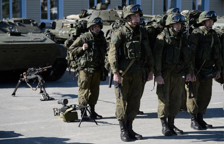 Российская Федерация развернула вПриднестровье военные учения