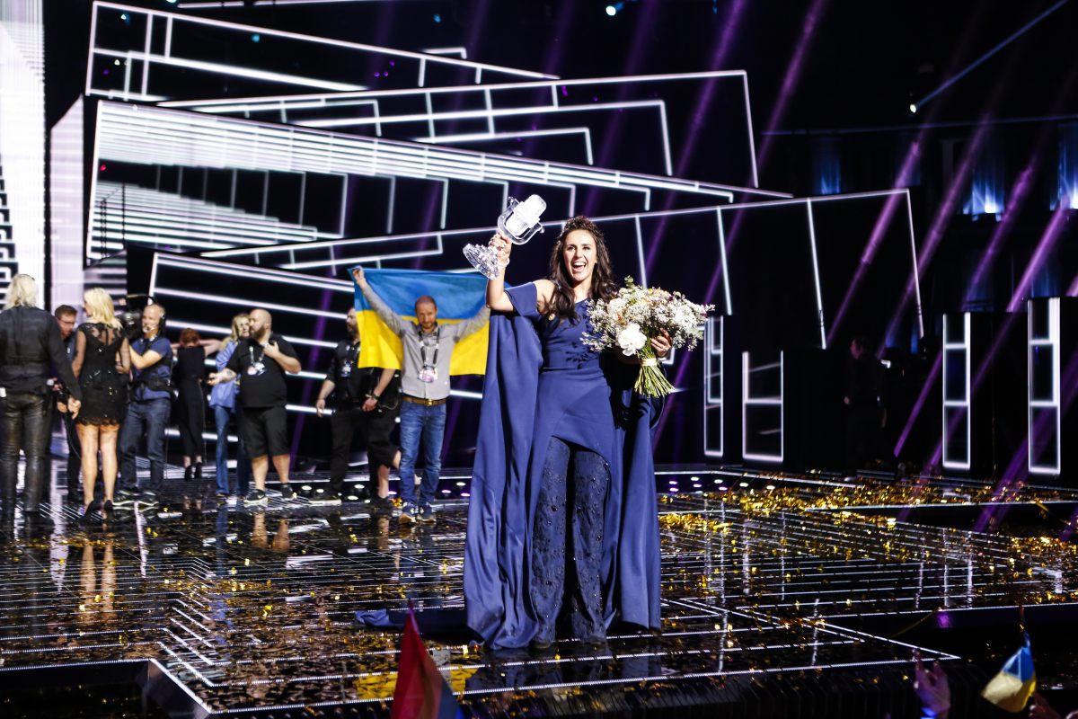 Дания поошибке отдала голос за Украинское государство на«Евровидении»