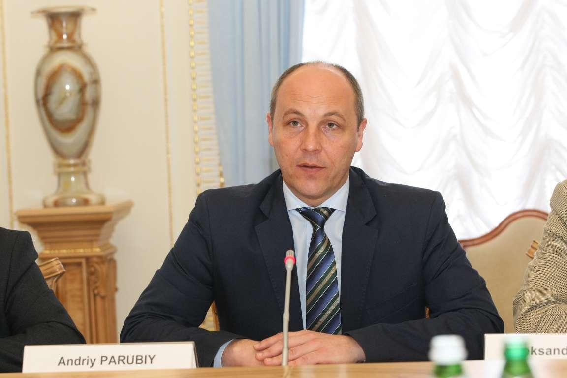 Парубий: Неприкосновенность сОнищенко могут снять 5июля