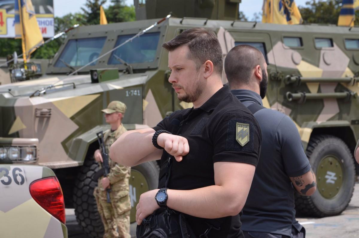 Билецкий анонсировал создание новоиспеченной партии