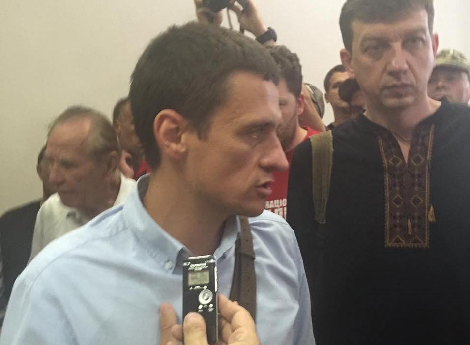 Луценко прибыл на совещание суда поделу «айдаровца» Лихолита