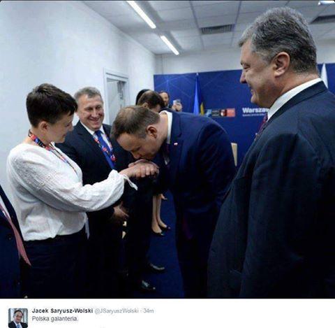 Савченко: «Русско-украинская вражда завершится вэтом году»