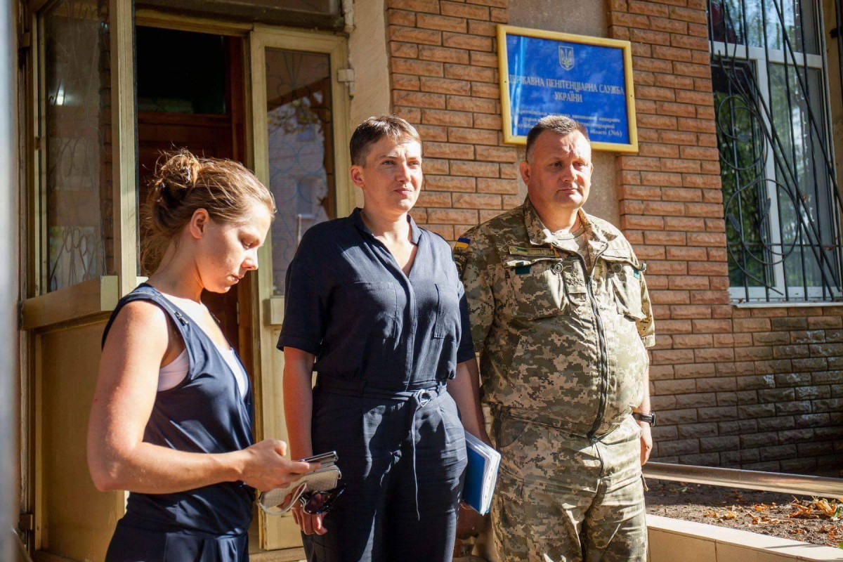 Савченко призывает украинцев попросить извинения запогибших наДонбассе
