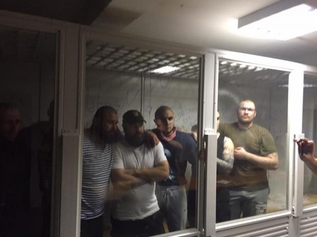 Размещено видео закрытого судебного совещания над солдатами «Торнадо»
