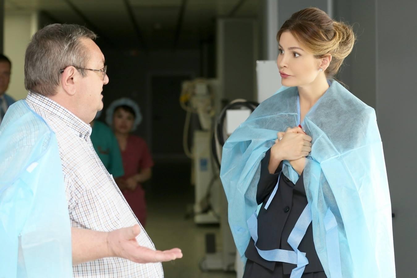 Ислама Каримова лечат русские медики