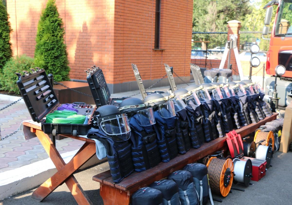 Госслужба Украины поЧС сообщила, что получила оборудование отНАТО
