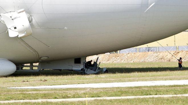 ВВеликобритании потерпело крушение самое огромное вмире воздушное судно