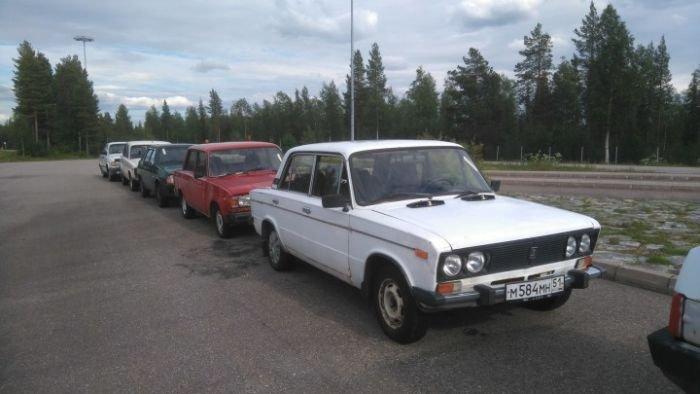 ВФинляндии пройдет 2-ой аукцион брошенных авто