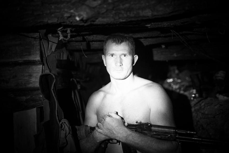 Взоне АТО отпули снайпера умер боец «Правого сектора»