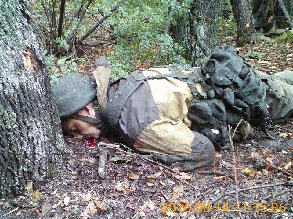 Обстрел Попасной: боевики бросили собственных наполе боя