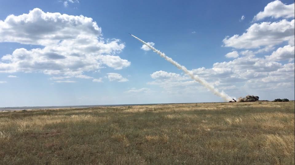 Размещены новые фото ивидео тестирования украинской ракеты