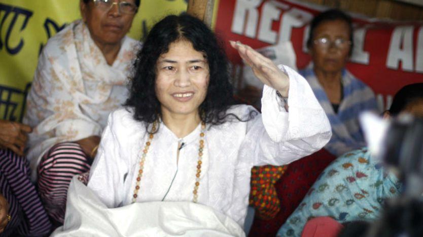ВИндии активистка пообещала прекратить голодовку, начатую 16 лет назад