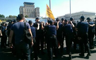 НБУ отмечает отсутствие связи протестующих наКрещатике вкладчиков сбанком «Михайловский»