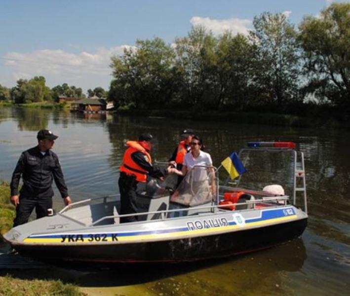 ВКиевской области заступила наслужбу водная патрульная милиция