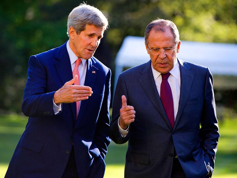 Сирийский вопрос: переговоры Лаврова иКерри вЖеневе длятся неменее 10-ти часов