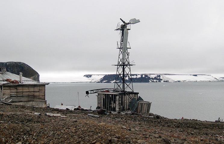 ВАрктике отыскали предметы ссекретной германской метеостанции