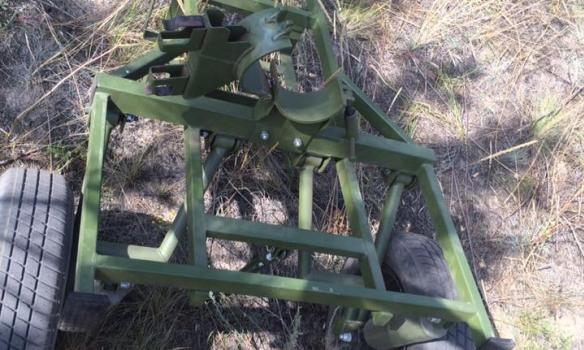 Два развалились, один начал клинить: бойцы АТО испытали украинский миномет «Молот»