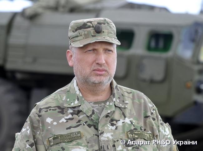 Турчинов рассказал о нововведении на границе для въезжающих в Украину россиян
