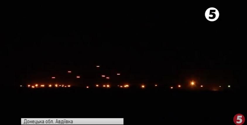 Вweb-сети появилось видео массированного обстрела Авдеевки террористами