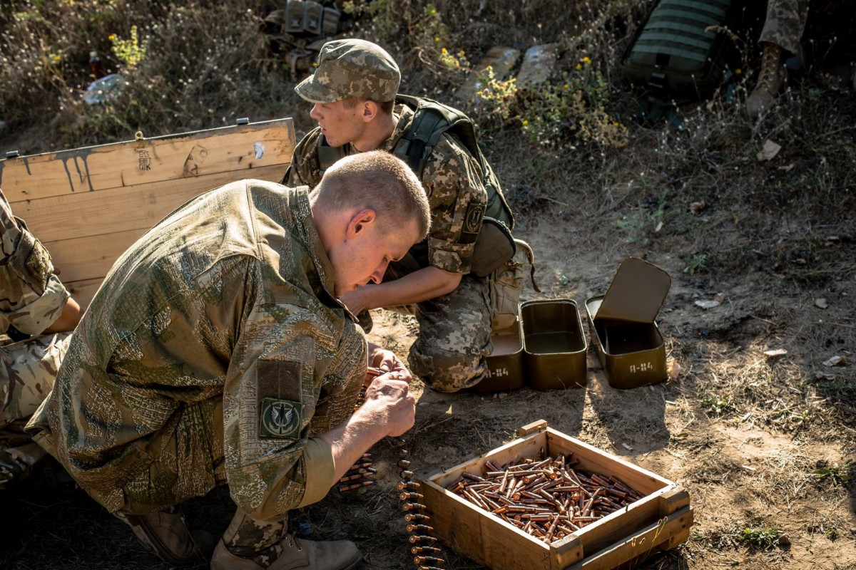 Взоне АТО сутки обошлись без потерь среди украинских военных,— АП